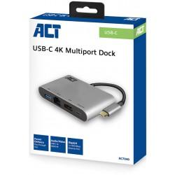 USB-C 4K multi port dock